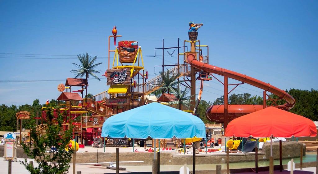 Children's area at H2OBX Waterpark Currituck County North Carolina