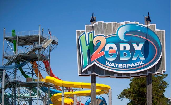 H2OBX Waterpark in Currituck County, North Carolina