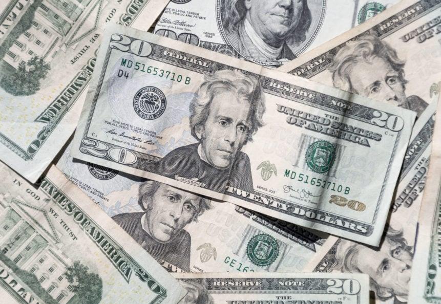 Money American Dollar Background