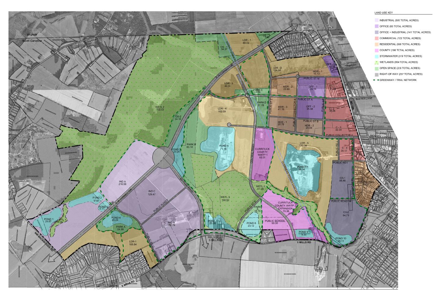 Currituck Station Master Land Use Plan - Image