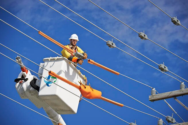 Duke Energy lineman North Carolina utilities