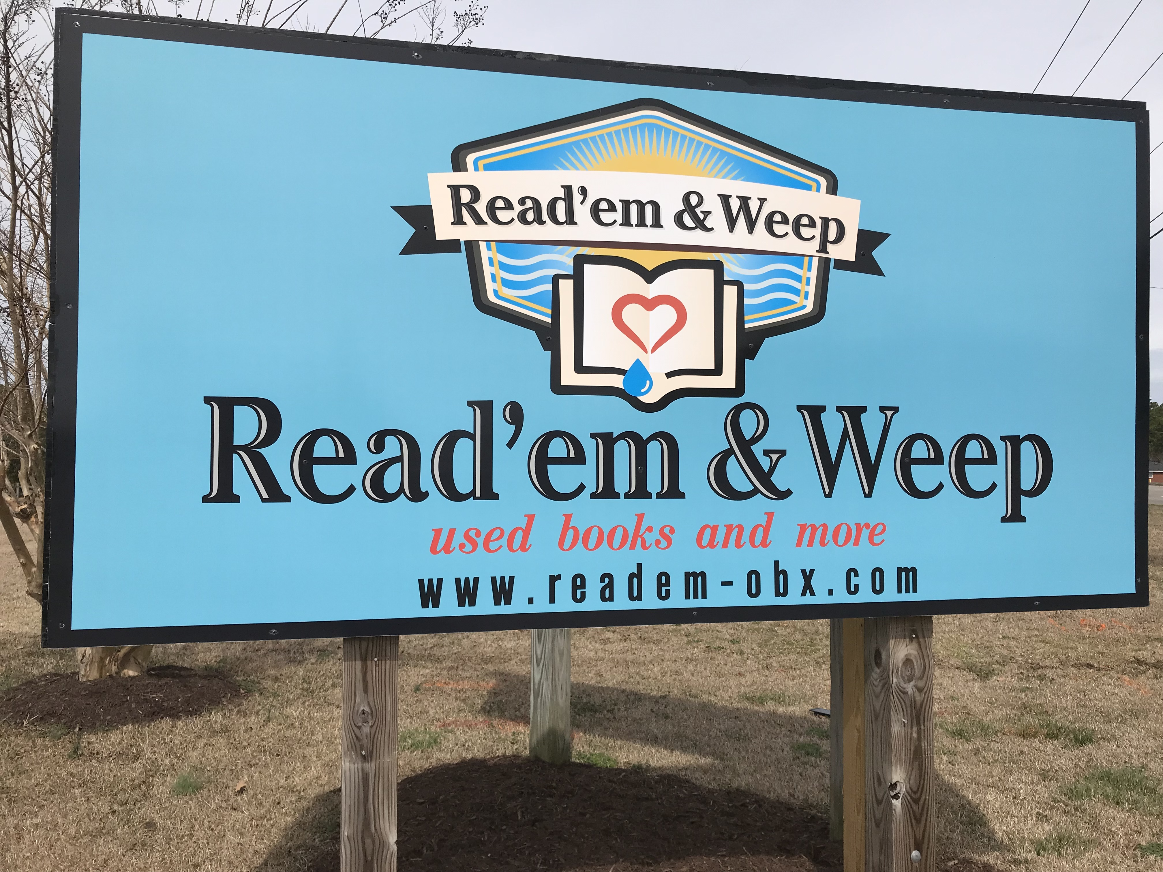 Read 'Em and Weep Currituck County Outer Banks book store 5