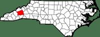 buncombe map
