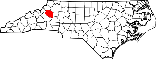 caldwell map
