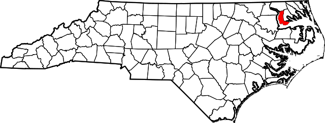 chowan map