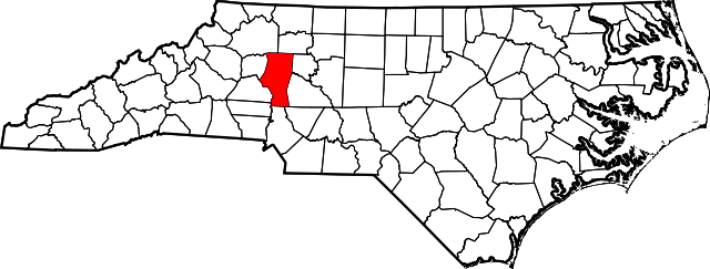 iredell map