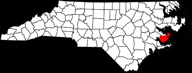 pamlico map