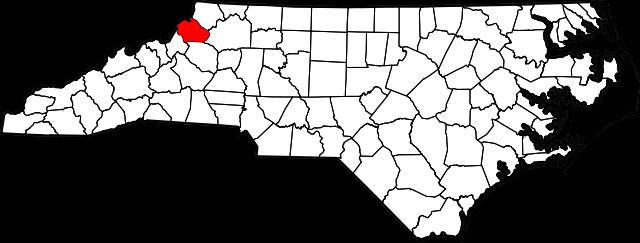 watauga map