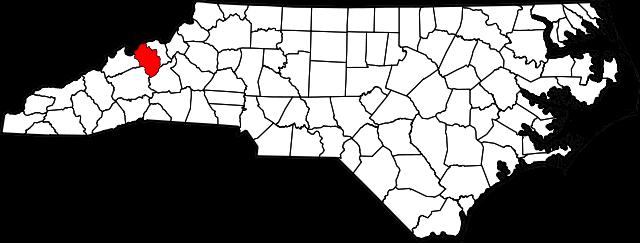 yancey map