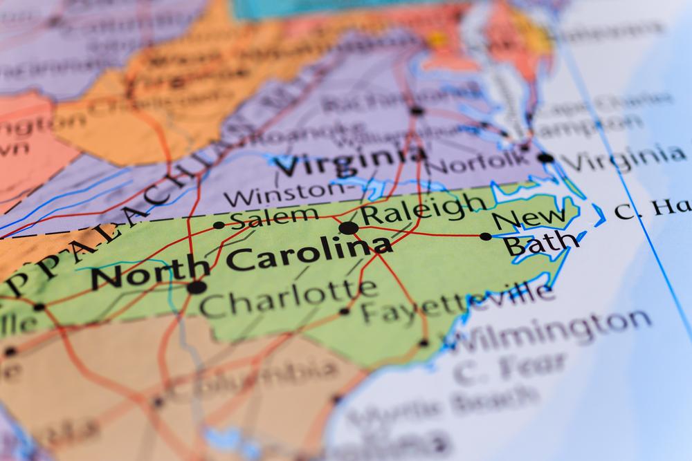 North Carolina State Economy Ranking