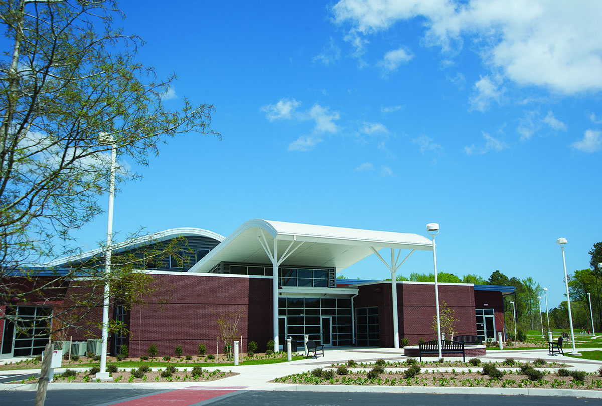 College of the Albemarle's Regional Aviation and Technical Training Center in Currituck County, NC