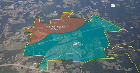 Chatham-Siler Megasite North Carolina