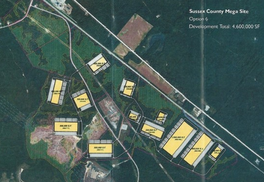 Sussex County Megasite Virginia