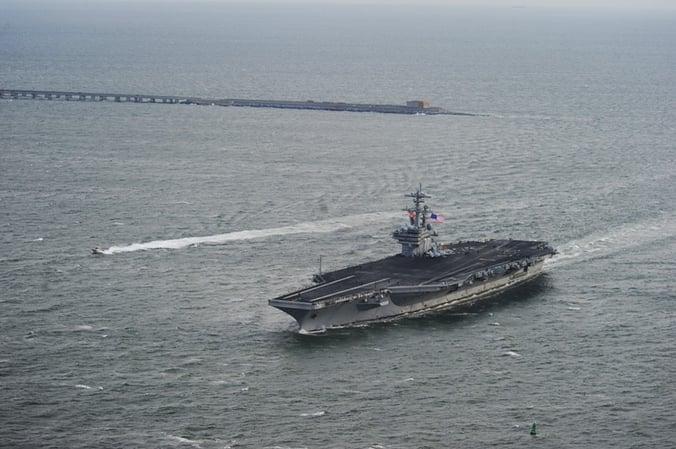US_Navy_111210-N-YX920-611_The_Nimitz-class_aircraft_carrier_USS_George_H.W._Bush_(CVN_77)_passes_over_the_Hampton_Roads_Bridge_tunnel_while_return.jpg