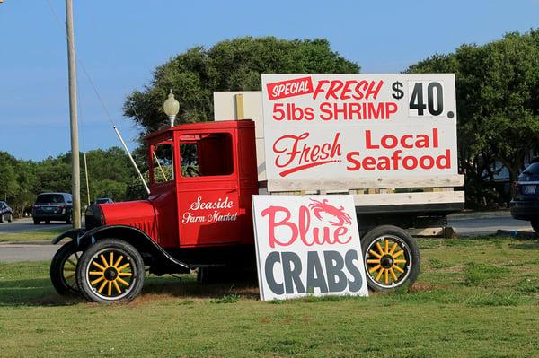 Currituck County Seaside Farm market truck