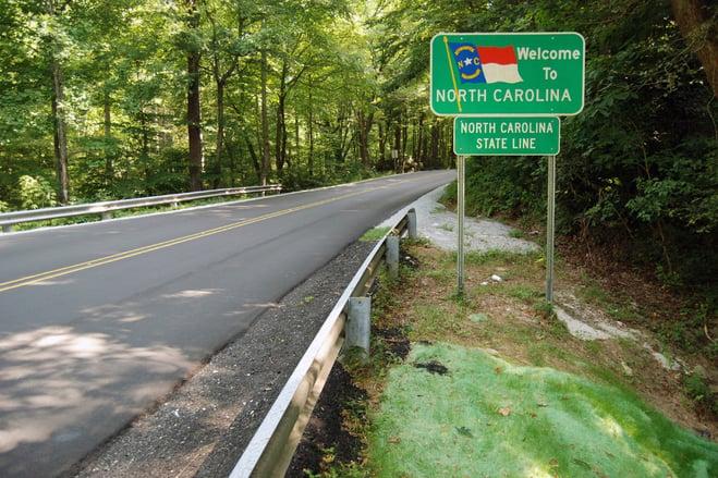 North Carolina State Line
