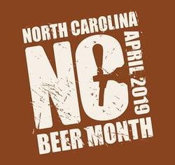 NC Beer Month logo