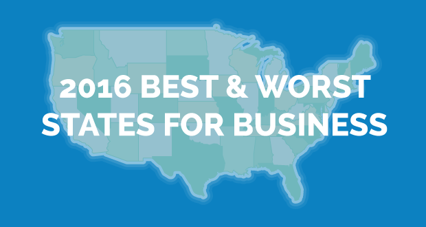 North Carolina Ranks in Top 5 for The Best & Worst States for Business CEO Ranking