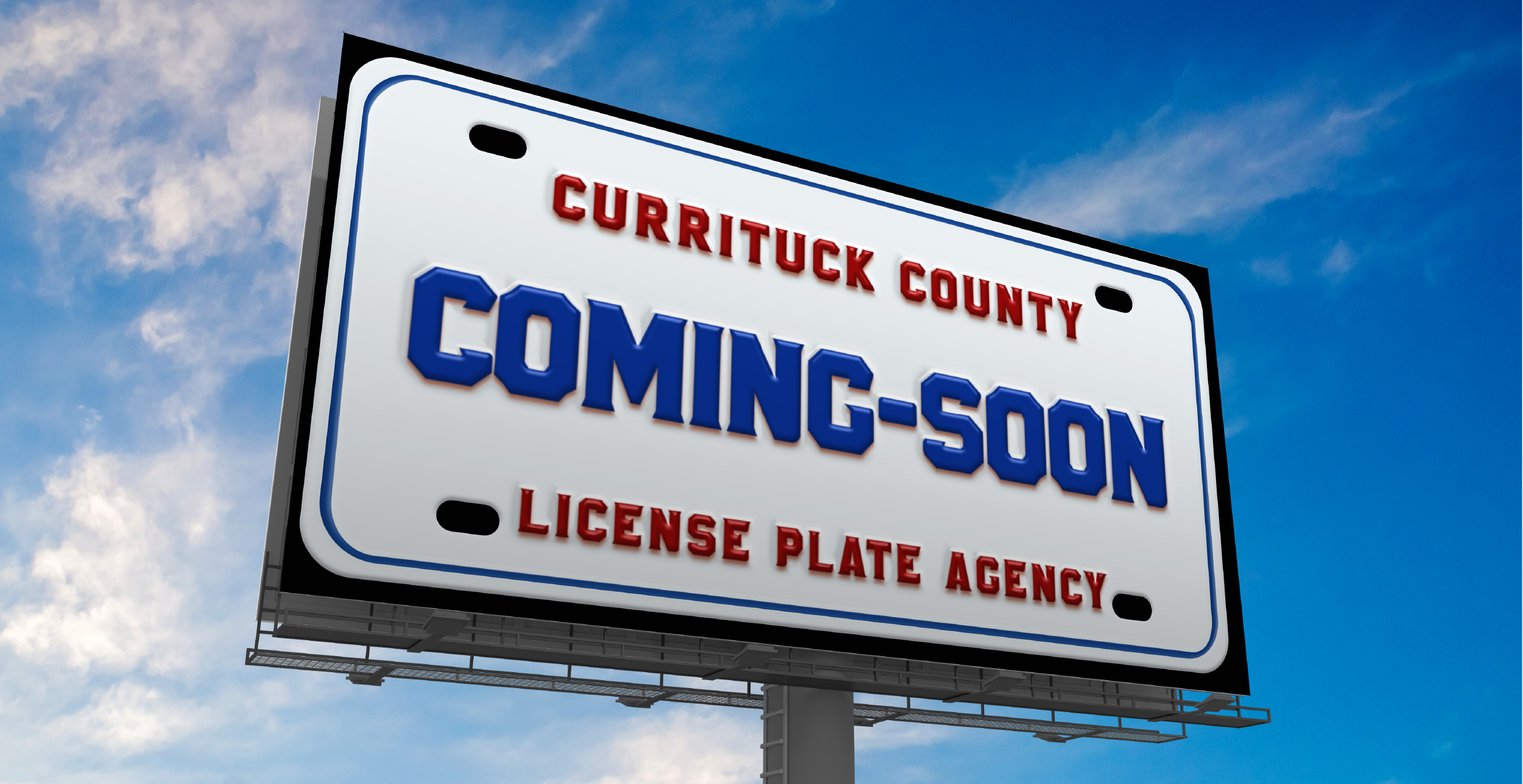 Currituck County's First License Plate Agency Opens in September